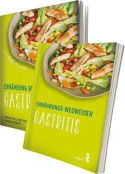 Paket Ernährung bei Gastritis und Ernährungs-Wegweiser Gastritis von Fortis,  Irmgard, Kriehuber,  Ernst, Kriehuber,  Johanna