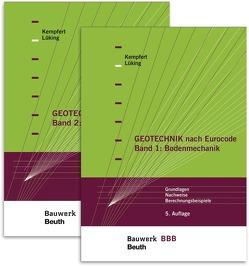 Paket Geotechnik nach Eurocode von Kempfert,  Hans-Georg, Lüking,  Jan