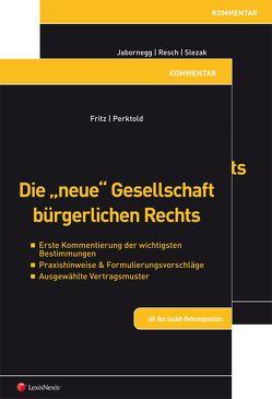 """PAKET """"Gesellschaft bürgerlichen Rechts"""" von Fritz,  Christian, Jabornegg,  Peter, Perktold,  Klaus, Resch,  Reinhard, Slezak,  Michael"""