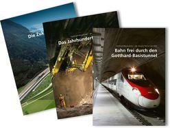 Paket: Gotthard-Basistunnel – der längste Tunnel der Welt von AlpTransit Gotthard AG,  .