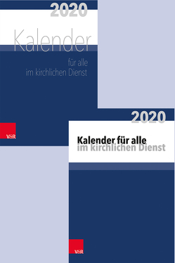 Paket Kalender und Tischkalender für alle im kirchlichen Dienst von Behrends,  Heinz