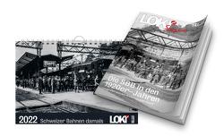 Paket: LOKI Spezial 1920er Jahre und Kalender Schweizer Bahnen damals 2022 von Pfeiffer,  Peter