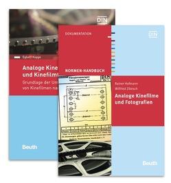 """Paket: Normenhandbuch """"Analoge Kinefilme und Fotografien"""" und Normenhandbuch """"Analoge Kinefilmformate und Kinefilmtechnik"""" von Hofmann,  Rainer, Koppe,  Egbert"""