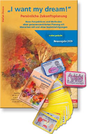 """Paket """"Persönliche Zukunftsplanung Kartenset"""" plus """"I want my dream Ringbuch"""" von Doose,  Stefan"""