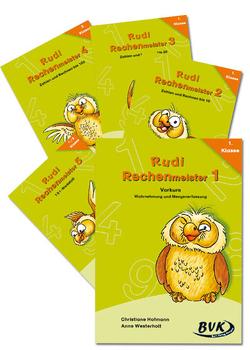 Paket Rudi Rechenmeister –  Band 1-5 von Hofmann,  Christiane, Westerholt,  Anne