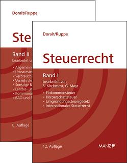 Paket Steuerrecht Band I 12. Aufl. + Band II 8. Aufl. (gebunden) von Doralt,  Werner, Ruppe,  Hans Georg