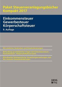 Paket Steuerveranlagungsbücher Kompakt 2017 von Arndt,  Thomas, Perbey,  Uwe