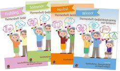 Paket: Themenhefte Gedächtnistraining Jahreszeiten von Kelkel,  Sabine