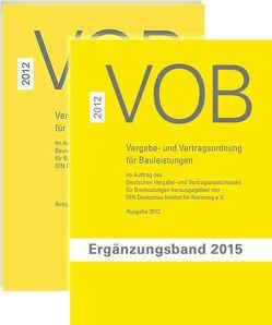 Paket VOB Gesamtausgabe 2012 + VOB Ergänzungsband 2015