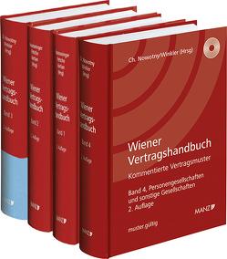 PAKET: Wiener Vertragshandbuch von Hausmaninger,  Christian, Nowotny,  Christian, Petsche,  Alexander, Vartian,  Claudine, Winkler,  Oskar