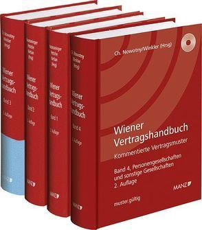 Paket Wiener Vertragshandbuch Bände 1 – 4 von Hausmaninger,  Christian, Nowotny,  Christian, Petsche,  Alexander, Vartian,  Claudine, Winkler,  Oskar