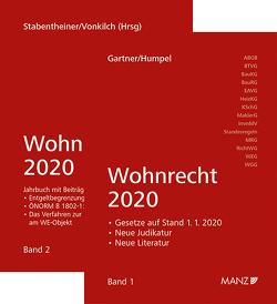 PAKET: Wohnrecht 2020 Band 1 + 2 von Gartner,  Herbert, Humpel,  Nikolaus, Stabentheiner,  Johannes, Vonkilch,  Andreas