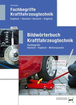 Paketangebot Bildwörterbuch Kraftfahrzeugtechnik und Fachbegriffe Kraftfahrzeugtechnik von Blumhagen,  Robert
