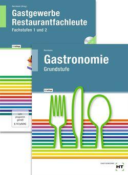 Paketangebot Gastronomie Grundstufe + Gastgewerbe Restaurantfachleute von Friebel,  Ingrid, Herrmann,  F. Jürgen, Klein,  Helmut, Nothnagel,  Dieter