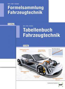 Paketangebot Tabellenbuch Fahrzeugtechnik und Formelsammlung Fahrzeugtechnik von Bell,  Marco, Elbl,  Helmut, Föll,  Werner, Schüler,  Wilhelm