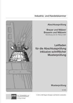 PAL-Leitfaden Brauer/-in und Mälzer/-in (VO vom 22.02.2007)