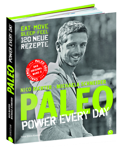 PALEO – power every day von Richter,  Michaela, Richter,  Nico