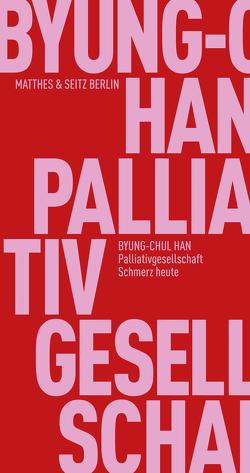 Palliativgesellschaft von Han,  Byung-Chul