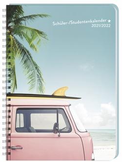 Palmen Schüler-/Studentenkalender A5 Kalender 2022 von Heye