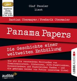 Panama Papers von Obermaier,  Frederik, Obermayer,  Bastian, Pessler,  Olaf