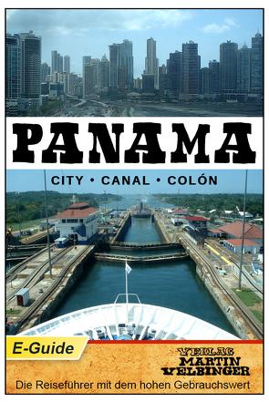 PANAMA – VELBINGER Reiseführer von Velbinger,  Martin