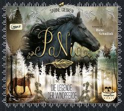 PaNia – Die Legende der Windpferde (mp3-CD) von Giebken,  Sabine, Schnöink,  Birte