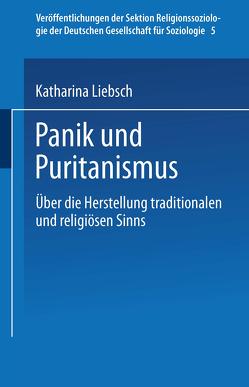 Panik und Puritanismus von Liebsch,  Katharina