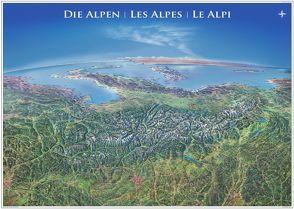 Panorama Alpen Poster
