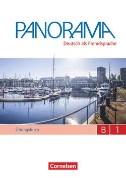 Panorama / B1: Gesamtband – Übungsbuch DaF mit Audio-CDs von Bajerski,  Nadja, Dusemund-Brackhahn,  Carmen, Finster,  Andrea, Giersberg,  Dagmar, Winzer-Kiontke,  Britta