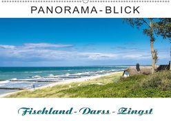Panorama-Blick Fischland-Darss-Zingst (Wandkalender 2018 DIN A2 quer) von Dreegmeyer,  Andrea