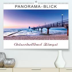 Panorama-Blick Ostseeheilbad Zingst (Premium, hochwertiger DIN A2 Wandkalender 2020, Kunstdruck in Hochglanz) von Dreegmeyer,  Andrea