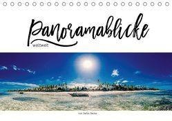 Panoramablicke weltweit (Tischkalender 2019 DIN A5 quer) von Becker,  Stefan