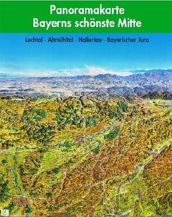 Panoramakarte Bayerns schönste Mitte