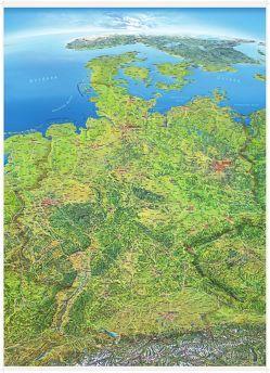 Panoramakarte Deutschland