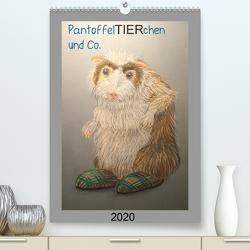 PantoffelTIERchen und Co. (Premium, hochwertiger DIN A2 Wandkalender 2020, Kunstdruck in Hochglanz) von Knoff,  Inga