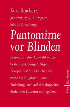 Pantomime vor Blinden von Bracharz,  Kurt