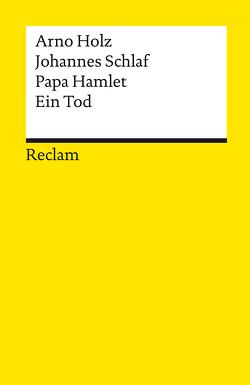 Papa Hamlet. Ein Tod von Böttcher,  Philipp, Holz,  Arno, Schlaf,  Johannes