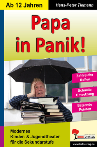 Papa in Panik von Tiemann,  Hans-Peter