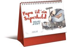 Papa ist ein Superheld – Mini-Monatskalender 2021 von Soosh
