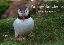 Papageitaucher Clowns der Meere (Wandkalender 2018 DIN A2 quer) von Uppena,  Leon