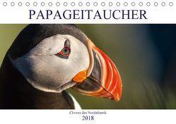 Papageitaucher: Clowns des Nordatlantik (Tischkalender 2018 DIN A5 quer) von Preißler,  Norman