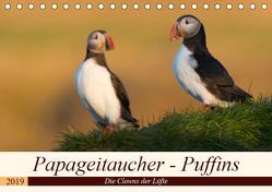Papageitaucher – Puffins (Tischkalender 2019 DIN A5 quer) von Jürgens,  Olaf