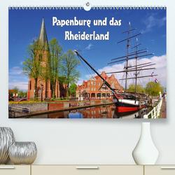 Papenburg und das Rheiderland (Premium, hochwertiger DIN A2 Wandkalender 2021, Kunstdruck in Hochglanz) von LianeM