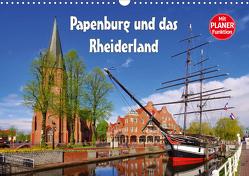 Papenburg und das Rheiderland (Wandkalender 2021 DIN A3 quer) von LianeM
