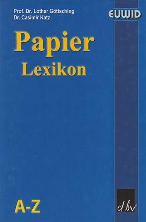 Papier-Lexikon auf CD-ROM von Göttsching,  Lothar, Katz,  Casimir
