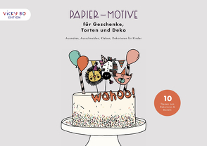 Papier-Motive für Geschenke, Torten und Deko von Schröder-Klasen,  Anna-Kristina