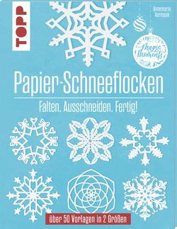 Papier-Schneeflocken von Vermaak,  Annemarie