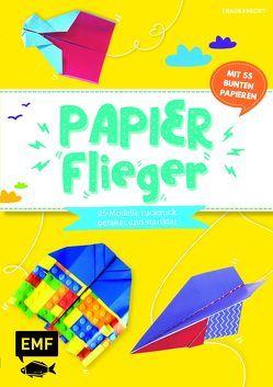 Papierflieger – 25 Modelle ruckzuck gefaltet und startklar von Precht,  Thade