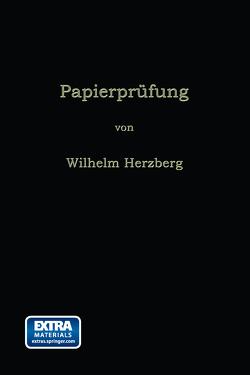 Papierprüfung von Herzberg,  Wilhelm