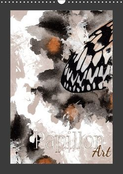 Papillon Art (Wandkalender 2019 DIN A3 hoch) von Koch,  Julia